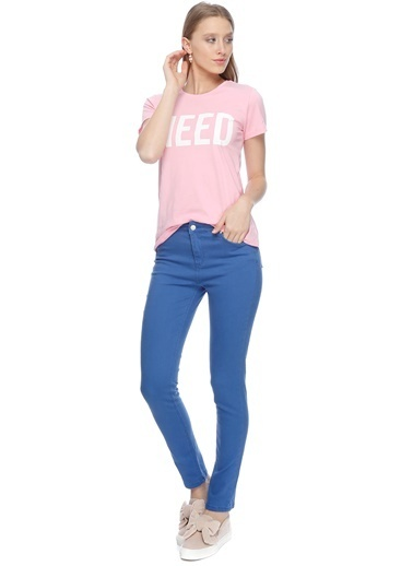 Limon Company Slim Fit Pantolon Mavi